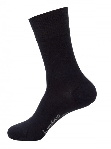 Chaussette en bambou anthracite