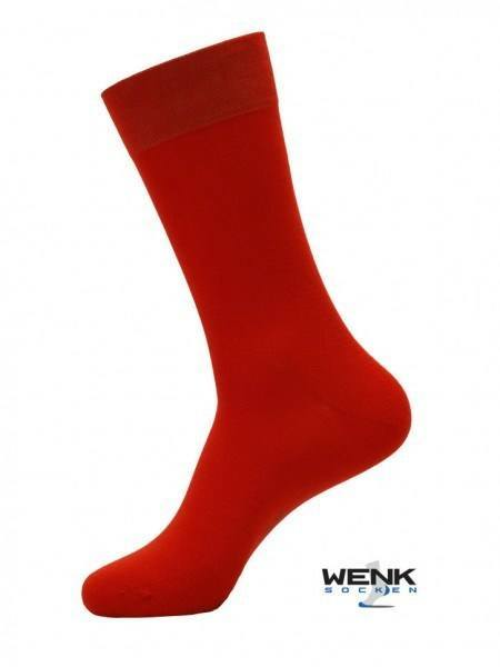 Chaussettes business bambou rouges