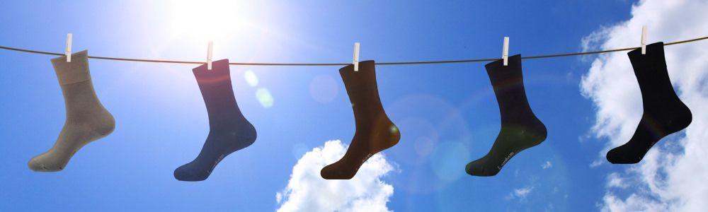 Socken ohne Gummizug
