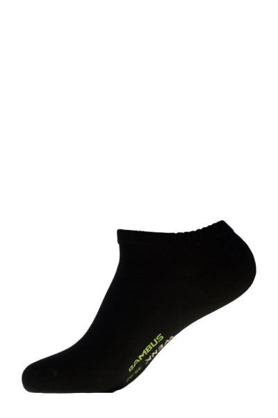 Chaussettes sneakers noires
