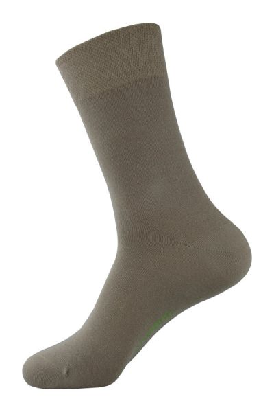 Beige Socken Bambus