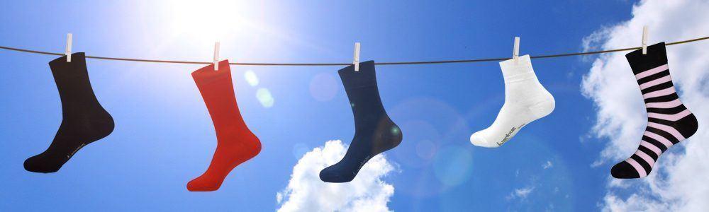 Geruchshemmende Socken