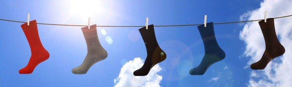 Farbige Socken
