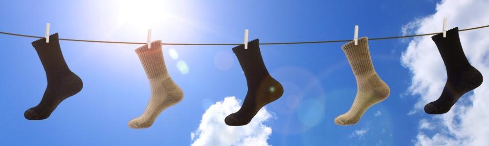 Warme Socken