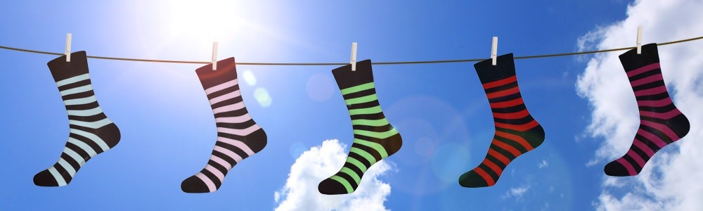 Witzige Socken